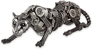 NOVICA 256251 Fierce Panther' Auto Part Sculpture, 8.25