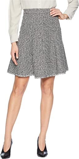 Seamed Flare Skirt