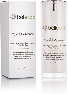 AntiAging Collagen Moisturizer SkinCare- Belléclat Youthful Vibrance, Anti Wrinkles for Rapid Age Reversing Solution On The Go
