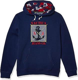 Jeans Co. Men's Graphic Print Hoodie