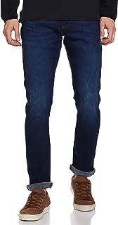 Wrangler Men's Skinny Fit Jeans (W38703W22SMU034033_Jsw-Indigo_34W x 33L)