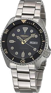 Seiko SRPD57K1 Reloj Seiko 5 Automatico Caballero Resistente al Agua 100 metros for Hombre, Gris, Hombre Estándar