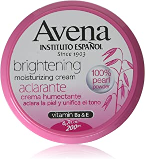 Avena Instituto Español Brightening moisturizing cream 6.7 oz.