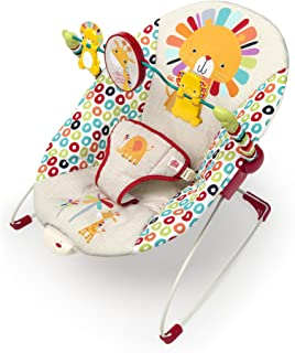 BabyBjörn Bouncer Bliss, Sand Gray, Cotton (006017US) Summer 2-in-1 Bouncer & Rocker Duo - Baby Bouncer & Baby Rocker with Soothing Vibrations, Removable Toys & Compact Fold for Storage or Travel - Easy to Clean Fisher-Price Baby's Bouncer, Green/Blue/Grey (DTG94) Bright Starts Playful Pinwheels Bouncer with Vibrating Seat