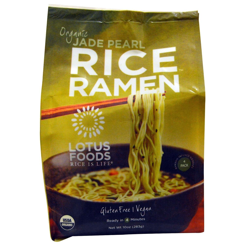 Lotus Foods Organic Max 43% OFF Max 57% OFF Jade Pearl Rice 283 Ramen Pack 10 oz 4