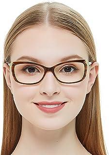 ffe32a2442 OCCI CHIARI Women Eyewear Frames Fashion Optical Acetate Eyeglasses with Clear  Lenses