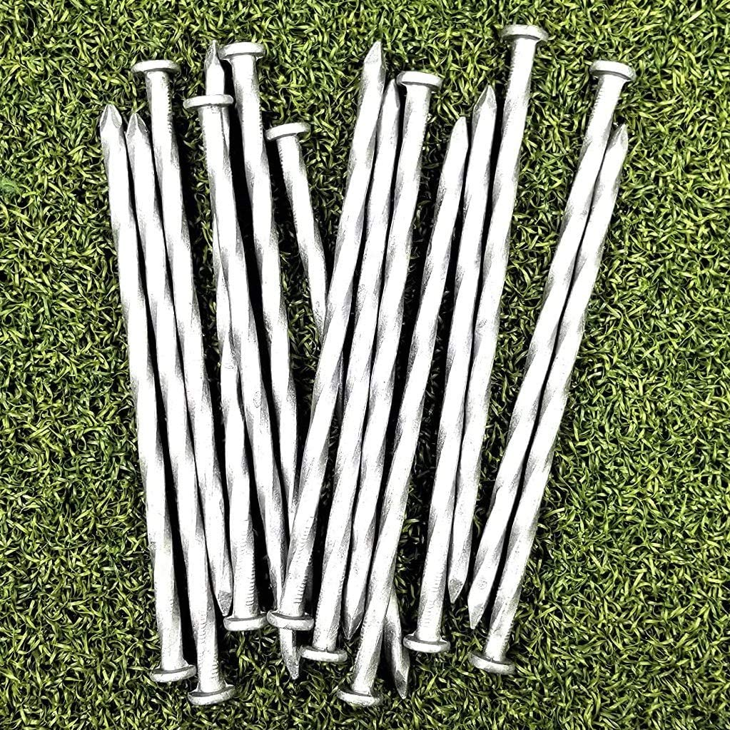 One Stop Outdoor Max 87% OFF 36-Pack 6-Inch Spiral Great interest Metal Stakes Landscape