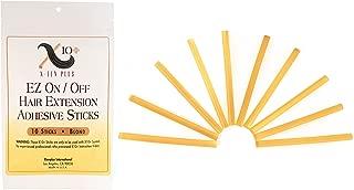 Fusion Hair Extension Keratin Glue Sticks by The Hair Shop - Professional Hair Adhesive Sticks for Extension Glue Gun (Blonde)