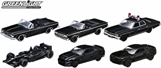 GreenLight Black Bandit Series 8 Car (1:64 Scale), Set of 6
