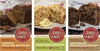 Whole Note Muffin Mania Sampler, 7-Whole-Grain and Naturally Gluten-Free