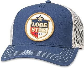 American Needle Valin Lone Star Beer Trucker Hat (PBC-1908D-INVY) Ivory/Navy