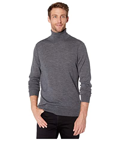 Michael Kors Merino Turtleneck (Ash Melange) Men