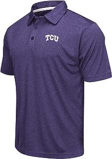 Colosseum Men's NCAA Heathered Trend-Setter Golf/Polo Shirt