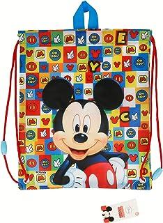 77d71b830 Mickey Mouse-ST-22054 Bolsa Merienda Icons, STOR ST-22054