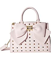 Betsey Johnson - Studded Bow Satchel
