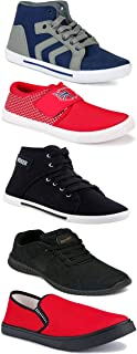 Shoefly Sports Running Shoes/Casual/Sneakers/Loafers Shoes for Men&Boys (Combo-(5)-1219-1221-1140-303-114)