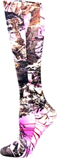 Celeste Stein Therapeutic Compression Socks, Pink True Timber, 15-20 Mmhg, Moderate