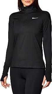 Nike Women's W NK ELMNT TOP HZ Long Sleeved T-shirt