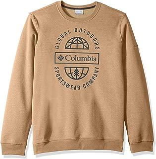 Columbia Mens Hart MountainTM Graphic Crew Fleece Jacket