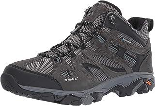 HI-TEC Ravus Vent Mid WP Hiking Boots - Men's, Dk Taupe/Olive Night/Stone, Medium