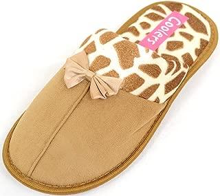 SNUGRUGS Womens Animal Print Style Slippers/Mules