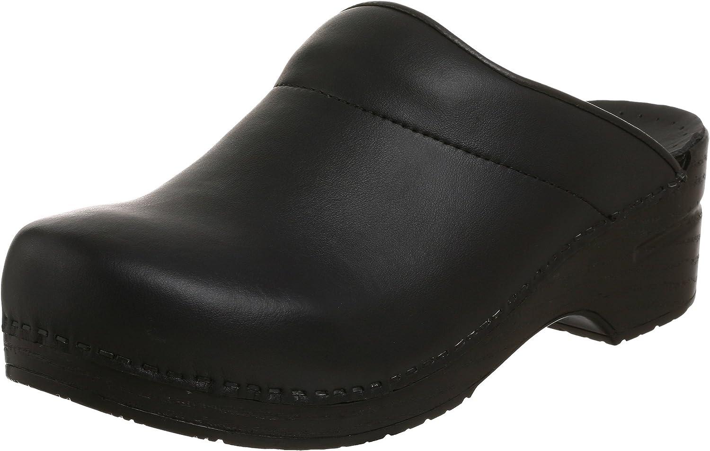 Dansko Men's Karl Box Leather Clog