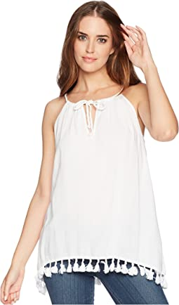 Tassel Tie Sleeveless Top