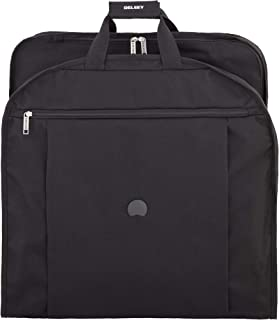 """DELSEY Paris Delsey Luggage Helium Lightweight 52"""" Dress Cover Garment Cover, Black (Black) - 45852"""