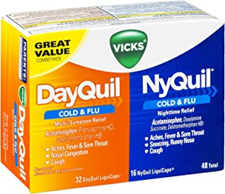 nyquil cold and flu dosage