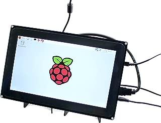 Waveshare Raspberry Pi 10.1inch HDMI LCD 1024x600 Capacitive Touch Screen with Case for Raspberry Pi 4 3 Model B B+ &BeagleBone Black Support Raspbian Ubuntu Windows 10 IoT with Video Input