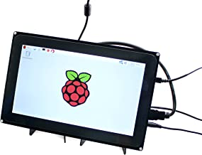 Waveshre 10.1 inch Capacitive Touch Screen LCD 1024x600 Hardware Resolution Supports Multi Mini-PCs Multi Systems Multi Interfaces Raspberry Pi BB Black etc.
