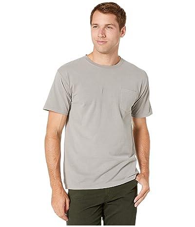 Hanes ComfortWashtm Garment Dyed Short Sleeve Pocket T-Shirt (Concrete Gray) Men