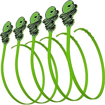 Green Gobbler Hair Grabber Drain Tool   Hair Clog Remover   Drain Opener for Sinks, Tubs & Showers - Pack of 5