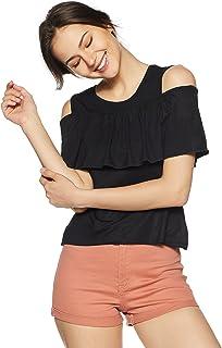 Jealous 21 Women's Plain Slim Fit Top