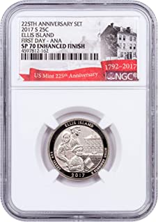 2017 S JEFFERSON NICKEL NGC SP70 ENHANCED FINISH FIRST DAY ISSUE DENVER ANA RARE