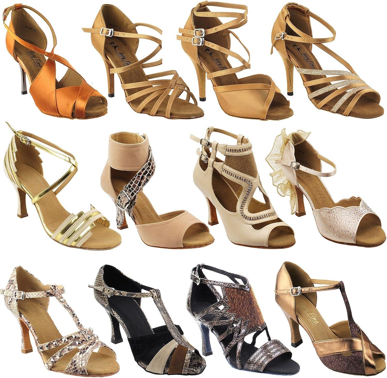 50 Shades store of Beige Dance Dress Ballroom Shoes: Weddi Women Salsa Outlet SALE