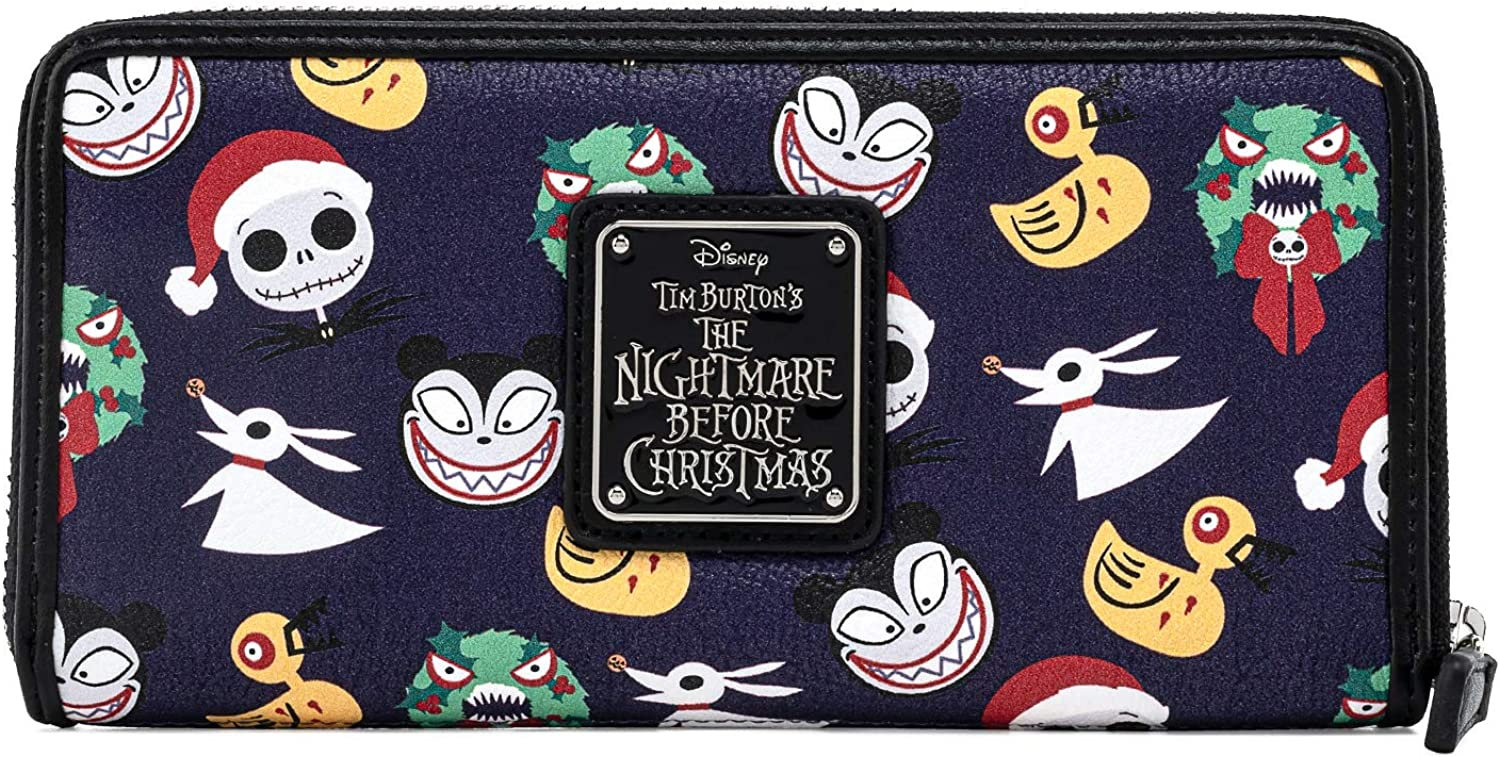 Loungefly Disney The Nightmare Before Over Print F All Cash special price Max 40% OFF Christmas