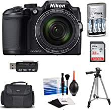 $299 » Nikon Coolpix B500 Wi-Fi Digital Camera (Black) with 32GB Card + Case + Batteries & Charger + Tripod + Extreme Electronics Cloth+ Kit