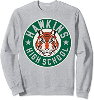 Netflix Stranger Things Hawkins High School Logo Sweatshirt