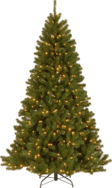National Tree 9 Foot New York Mall North NRV7-D00- Spruce Regular dealer Valley Hinged