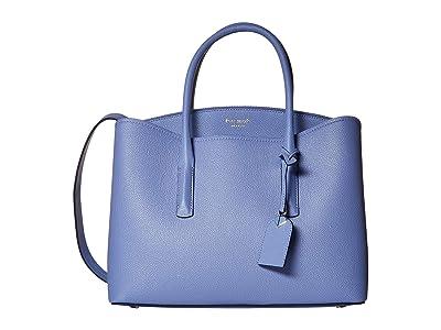 Kate Spade New York Margaux Large Satchel (Forget-Me-Not) Satchel Handbags