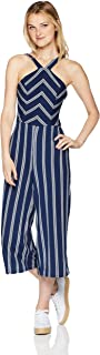 A. Byer Junior's Young Woman's Teen Full-Length Jumpsuit Romper
