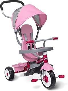 Radio Flyer 4-in-1 Stroll 'N Trike Pink (Renewed)