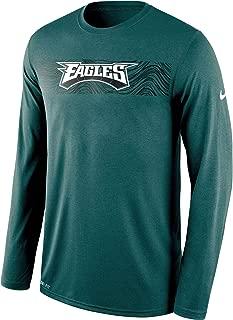 Nike Philadelphia Eagles Sideline Seismic Legend Long Sleeve T-Shirt – Midnight Green