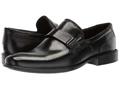 Ecco Loafers Mens - Ecco Faro Buckle Black