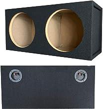 $79 » Sponsored Ad - 1x Audiotek CA-10 DS Pro Dual Seal 10-Inch Vented Subwoofer Enclosure Car Vehicle Audio Speaker Box with Al...