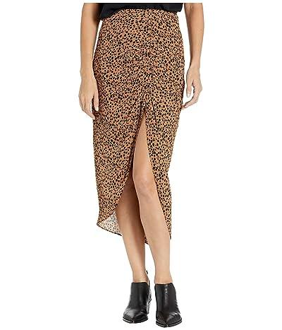 BB Dakota Ruched Awakening Skirt (Coco) Women