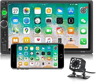 "Double Din Car Radio 7"" HD Player MP5 Touch Screen Digital Display Support Bluetooth Multimedia USB Autoradio Mirror Link ..."
