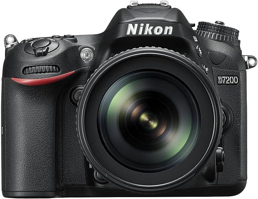 Nikon D7200 - Cámara réflex Digital de 24.2 MP (Pantalla de 3.2 FHD WiFi) Color Negro - Kit con Objetivo AF-S Nikkor 18-105 mm VR