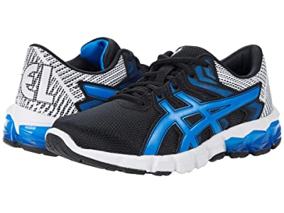 ASICS Kids GEL-Quantum 90 2 (Big Kid) (Black/Electric Blue) Boy